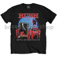 T-Shirt - Moving Pictures Tour 1981 (Men's Small)