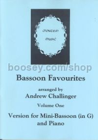Bassoon Favourites Volume One (Mini-Bassoon & Piano)