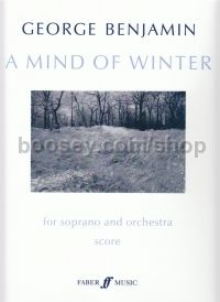 A Mind Of Winter (Soprano & Orchestra - Study Score)