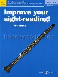 Improve your sight-reading! Clarinet Grades 1-3 (New Edition)
