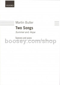 Two Songs - Summer & Hope (Soprano & Piano)