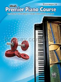 Alfred Premier Piano Course Technique Book 2A