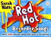 Red Hot Recorder Songs (Student Book & CD)