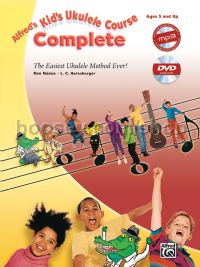 Alfred's Kid's Ukulele Course Complete (Book & CD/DVD)