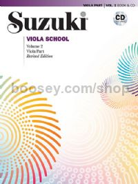 Suzuki Viola School, Vol. 2 -  Viola Part (+ CD) (Revised)