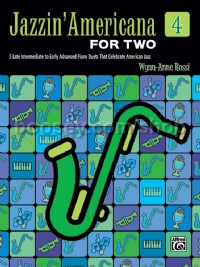 Jazzin' Americana for Two, Book 4 (1 Piano 4 Hands)