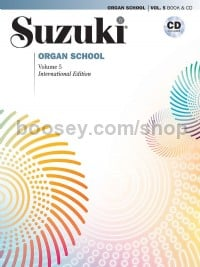 Suzuki Organ School 5 (with CD)