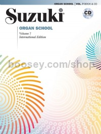 Suzuki Organ School 7 (with CD)