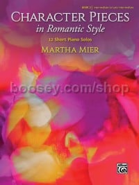 Character Pieces in Romantic Style, Book 2 (Piano Solo)