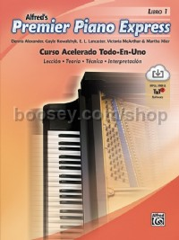 Premier Piano Express: Spanish Edition, Libro 1 (Book & CD-Rom)