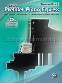 Premier Piano Express, Repertoire Book 2 (Book & Online Audio)