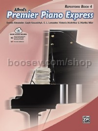 Premier Piano Express, Repertoire Book 4 (Book & Online Audio)