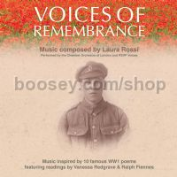 Voices of Remembrance, with readings by Vanessa Redgrave and Ralph Fiennes