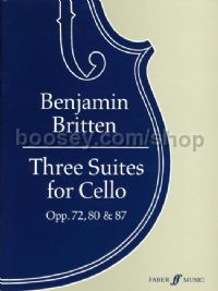 Three Suites for Solo Cello