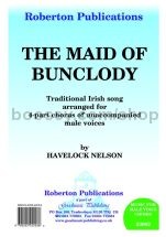 Maid of Bunclody for male choir