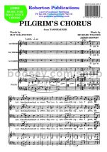 Pilgrims' Chorus for male choir