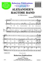 Alexander's Ragtime Band for male choir