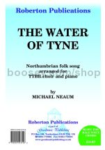 The Water of Tyne for TTBB & piano