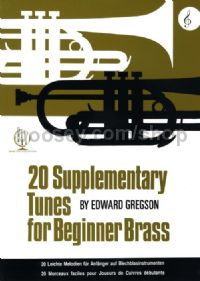20 Supplementary Tunes for Beginner Brass (Treble Clef)