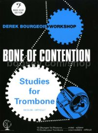Bone of Contention, Op. 112 for trombone (bass clef)