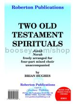 Two Old Testament Sprituals for SATB choir