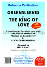 Greensleeves or The King of Love for SATB choir