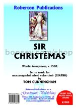 Sir Christemas for SATB choir