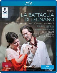 La Battaglia Di Legnano (C Major Blu-Ray Disc)