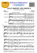 Lilly Bright and Shine-a for female choir (SA)