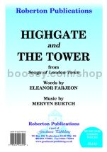 Highgate / The Tower for unison choir