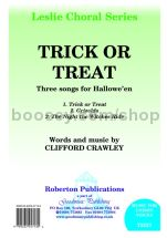 Trick Or Treat for unison voices