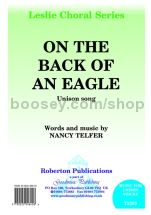 On the Back of an Eagle for unison voices