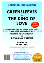 Greensleeves or The King of Love for female choir (SSA)