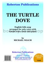 Turtle Dove for female choir (SSA)