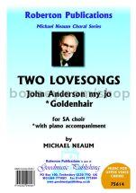 Two Lovesongs for SA choir