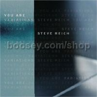 You Are (Variations) / Cello Counterpoint (Nonesuch Audio CD)