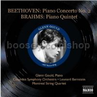 Piano Quintet in F minor Op 3/Piano Concerto No.2 in B flat major Op 19 (Naxos Historical Audio CD)