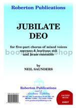 Jubilate Deo - SATB choir