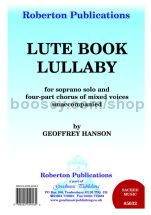 Lute-Book Lullaby for SATB choir