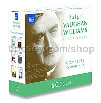Complete Symphonies Nos. 1-9 Bournemouth Symphony Orchestra (Naxos  Audio CD 6-Disc Set)