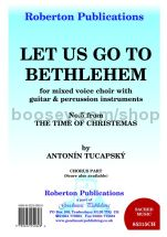 Let us go to Bethlehem for SATB chorus part