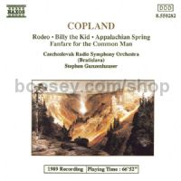 Appalachian Spring/Rodeo: Four Dance Episodes/Billy the Kid/Common Man Fanfare (Naxos Audio CD)
