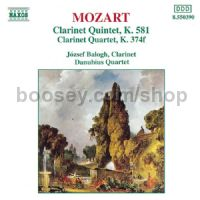 Clarinet Quintets (Naxos Audio CD)