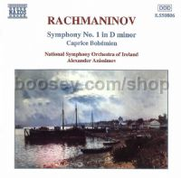 Caprice Bohemien Op. 12/Symphony No.1 Op. 13 in D minor (Naxos Audio CD)