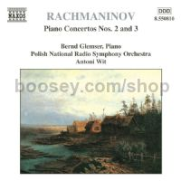 Piano Concertos 2 & 3 (Naxos Audio CD)