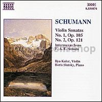 Violin Sonatas Nos. 1 and 2 (Naxos Audio CD)