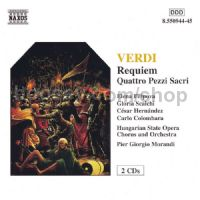 Requiem/Four Sacred Pieces 2-CD set (Naxos Audio CD)