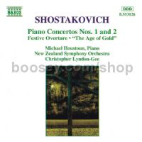 Piano Concertos 1-2 (Naxos Audio CD)