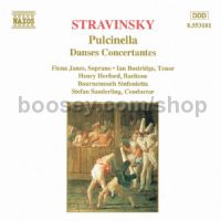 Pulcinella (complete)/Danses Concertantes (Naxos Audio CD)