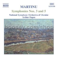 Symphonies Nos. 3 and 5 (Naxos Audio CD)